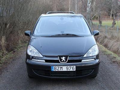 begagnad Peugeot 807 2,0 HDI / 7-Sitsig