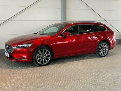 begagnad Mazda 6 Wagon Automat 2,5 Optimum 194 Hk Signature