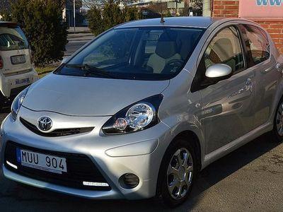 begagnad Toyota Aygo 1.0 VVT-i 5dr 2012, Halvkombi 59 900 kr