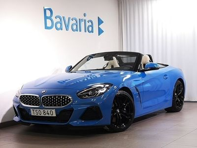 begagnad BMW Z4 sDrive30i M-Sport Innovation Connected Nypris 674 300 kr