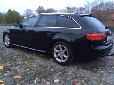 begagnad Audi A4 Avant 2,0TDI Q170hk, svart