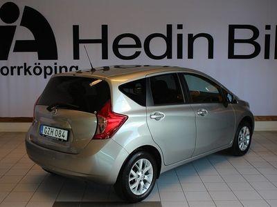 begagnad Nissan Note Visia 80hk Demobil Halvkombi