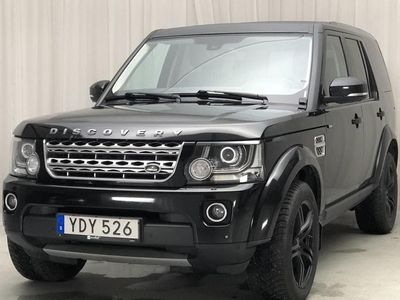 begagnad Land Rover Discovery 4 3.0 SDV6