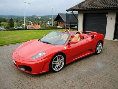 begagnad Ferrari F430 Spider 4.3 V8 F1 490hk med helt ny koppling