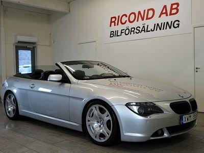 begagnad BMW 645 Ci Convertible Automat Dynamic 2005, Sportkupé Pris 169 900 kr