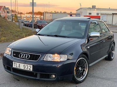 begagnad Audi S3 1.8 quattro Ambition 270HK SPORTAVGASYSTEM