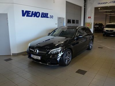 begagnad Mercedes C200 d AMG Line
