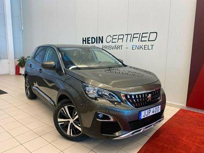 begagnad Peugeot 3008 1.2 PureTech Allure (ink vinterhjul) 130hk, 2017