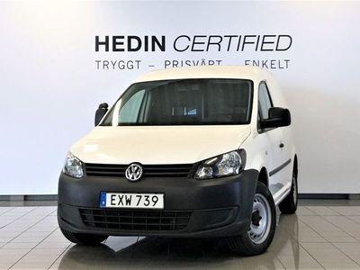 begagnad VW Caddy 1.6 TDI 75HK Webasto/Drag/V-hjul