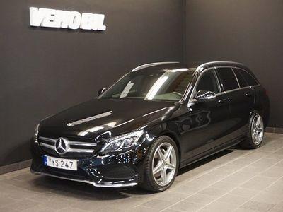 begagnad Mercedes 220 C4MATIC AMG Värmare Backkamera ILS