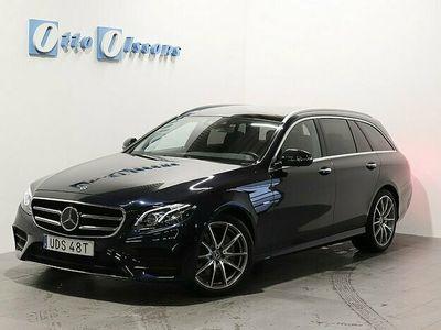 begagnad Mercedes E220 4-MATIC AMG Kombi PremiumPlus Aut, Drag, Värmare