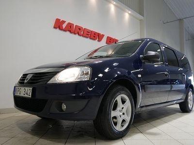 begagnad Dacia Logan 1.6 MCV eco2 7-sits Dragkrok 2010, Transportbil 34 900 kr