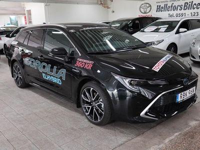 begagnad Toyota Corolla TS ELHybrid 2,0 180hk Executiv NAV Aktiv Fjädring