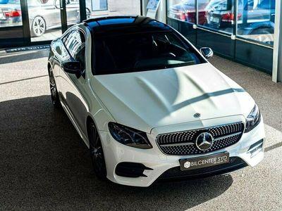 begagnad Mercedes E220 Coupé 4M Mercedes 4MATIC 9G-Tronic Euro 6 194hk