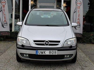 begagnad Opel Zafira 1.8 7-sits Kamrem Bytt 2004, SUV 21 900 kr