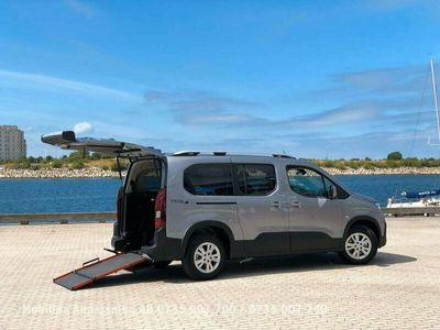 begagnad Peugeot Rifter Handikappanpassad bredaste lättviktsramp