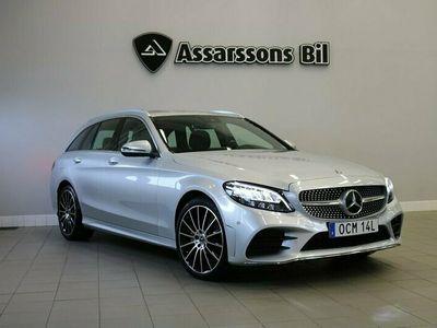 begagnad Mercedes C220 T d 4M 220d | 4MATIC | AMG Line | GPS | Drag I Moms
