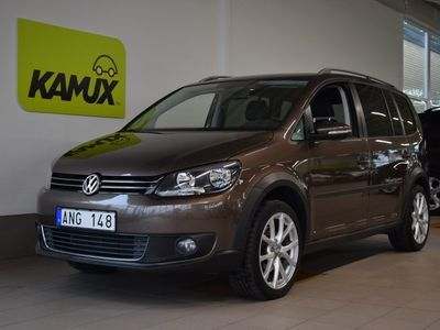 begagnad VW Touran Cross 2.0 TDI DSG Sekventiell, 140hk, 2011