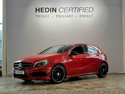 begagnad Mercedes A220 A Benz4MATIC AMG LINE VÄRMARE NAVI 2015, Halvkombi Pris 214 900 kr