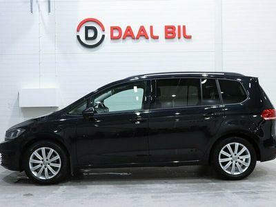 begagnad VW Touran 1.6 TDI DSG 115HK DRAG P-VÄRM KAMERA MOMS