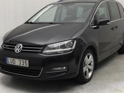 begagnad VW Sharan 2.0 TDI, 170hk, Drag, P-värme