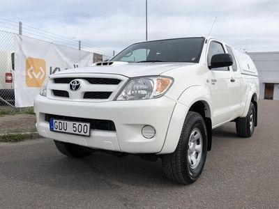 begagnad Toyota HiLux 2.5 D-4D 4WD (120hk)