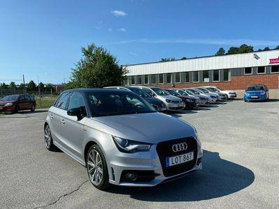 begagnad Audi A1 Sportback 1.2 TFSI 86hk S-line 9846 mil Nyservad