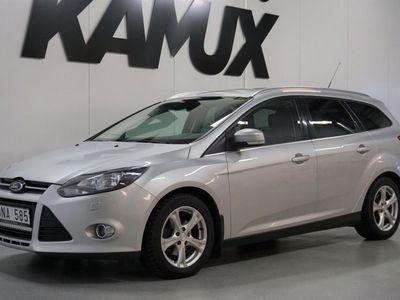 begagnad Ford Focus Kombi 1.6 TDCi   Titanium   D-Värm   Extra Ljus, 115hk***