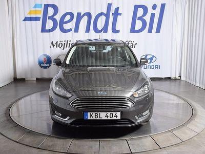 begagnad Ford Focus Kombi 1.0 EcoBoost Euro 6 100hk / Dragkrok