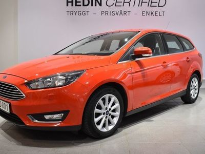 begagnad Ford Focus 1,0T EcoBoost 100 hk Titanium