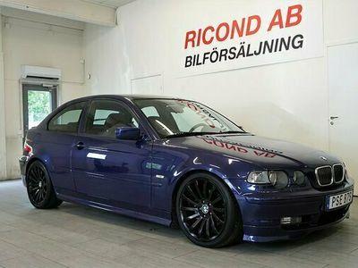 begagnad BMW 325 i Compact Aut INDIVIDUAL SPECIAL 2001, Halvkombi Pris 89 900 kr