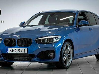 begagnad BMW 118 d xDrive / M Sport / Eluppvärmd ratt / Hi-Fi
