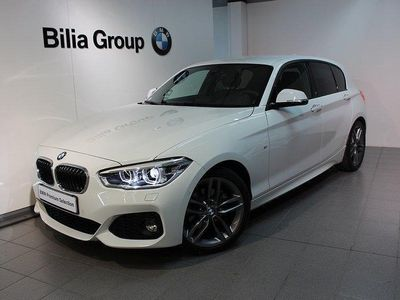 begagnad BMW 120 i Aut M-Sport Nav Helläder