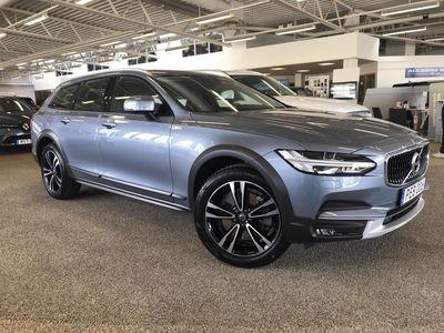 usado Volvo V90 CC T5 AWD Advanced Edt, Garanti 24 månader, Head Up Display, Navigation, Parkeringskamera bak, Dragkrok halvautomatisk, Smartphone Integration