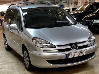 begagnad Peugeot 807 2.0 HDi/ 8-SITS/ LÅGMIL/ P-HJÄLP/ NY BESIKTIGAD