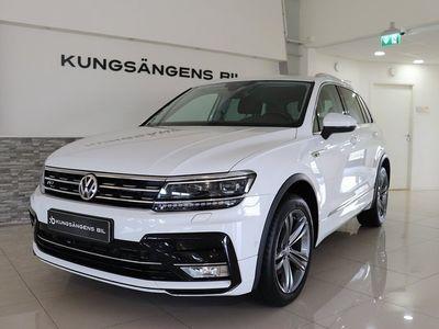 begagnad VW Tiguan 2.0 TDI R-line 4Motion D-värmare Drag V-hjul 190hk
