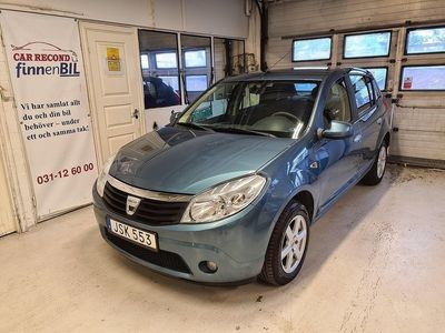 begagnad Dacia Sandero 1.6 AC Besiktad
