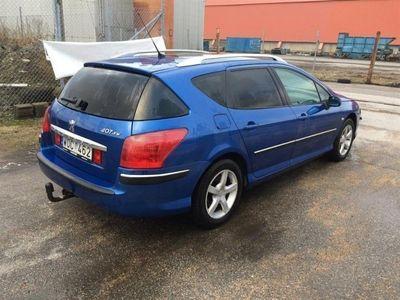 begagnad Peugeot 407 SW ST 2,0 HDI 136hk aut panorama drag