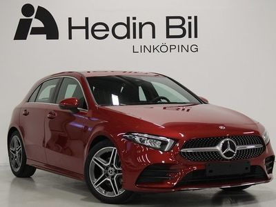 begagnad Mercedes A200 A BenzAMG-Line Backkamera Automat Navi Widescreen 2021, Halvkombi Pris 356 300 kr