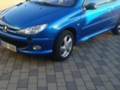 begagnad Peugeot 206 CC 1.6 -05