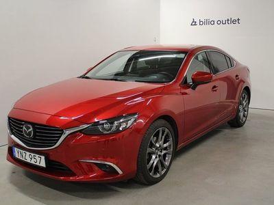 begagnad Mazda 6 2.5 SKYACTIV-G Optimum P-Värm Drag B-Kam Navi Bose
