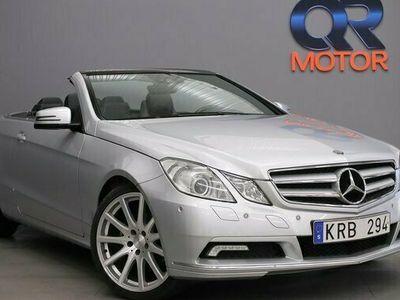 begagnad Mercedes E250 Cabriolet Kleeman 204hk