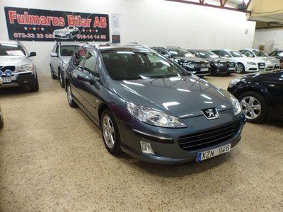 begagnad Peugeot 407 2.0 Ny Besiktigad Ny Kamrem 140hk