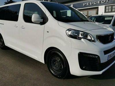 begagnad Peugeot Traveller 9-sits 2.0 BlueHDi Automat8 2019, Minibuss Pris 279 500 kr