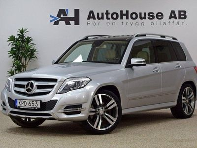 begagnad Mercedes GLK350 CDI 4M 265HK Glastak Dr