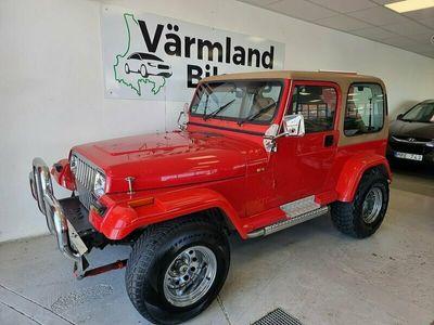 begagnad Jeep Wrangler 4.0 4WD 178hk