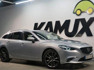 begagnad Mazda 6 2.2D AWD Optimum Aut Navi D-värm Drag 175hk