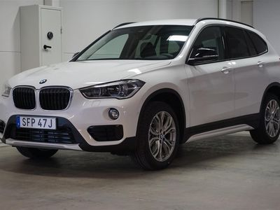 begagnad BMW X1 xDrive20d Aut Model Sport Drag HiFi