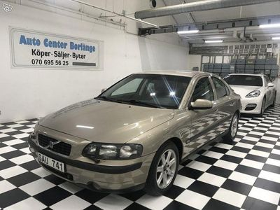 begagnad Volvo S60 2.4T Automat 200hk Ny Bes