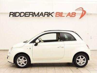 begagnad Fiat 500 1.2 69hk CAB NYSERVAD / AUT